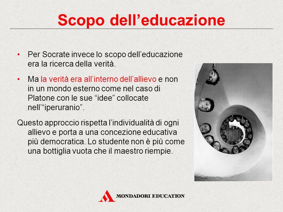 Scopo dell'educazione