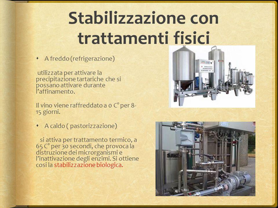 Stabilizzazione con trattamenti fisici