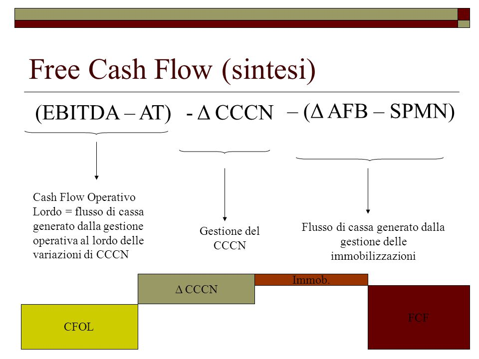 Free Cash Flow (sintesi)