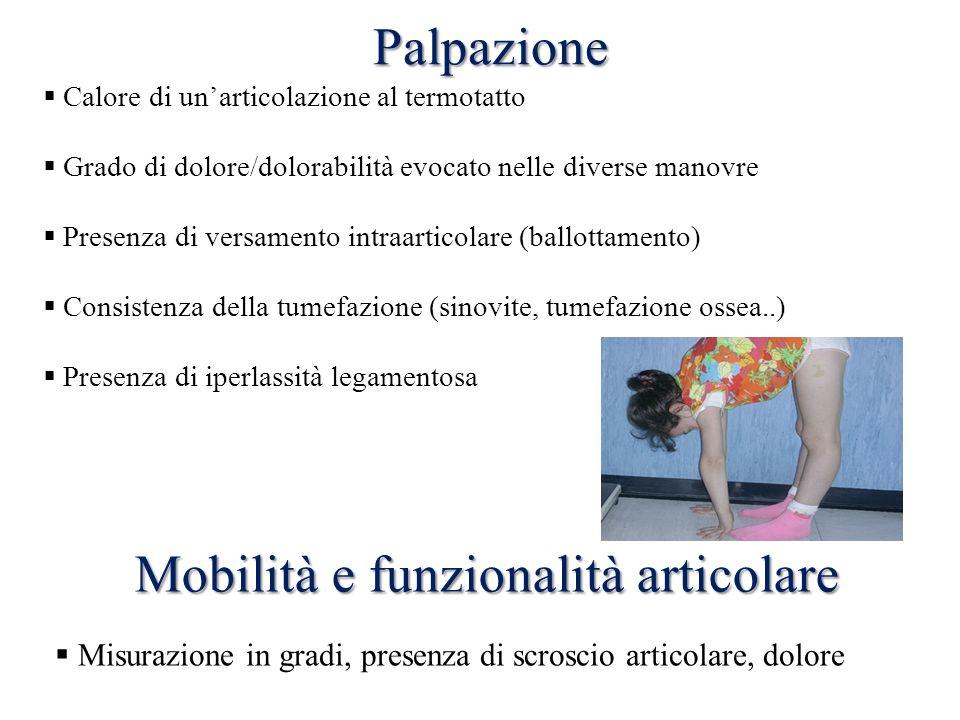 Mobilità e funzionalità articolare