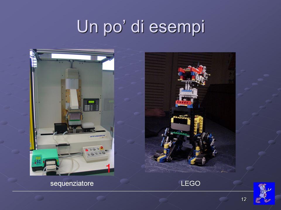Un po' di esempi sequenziatore LEGO