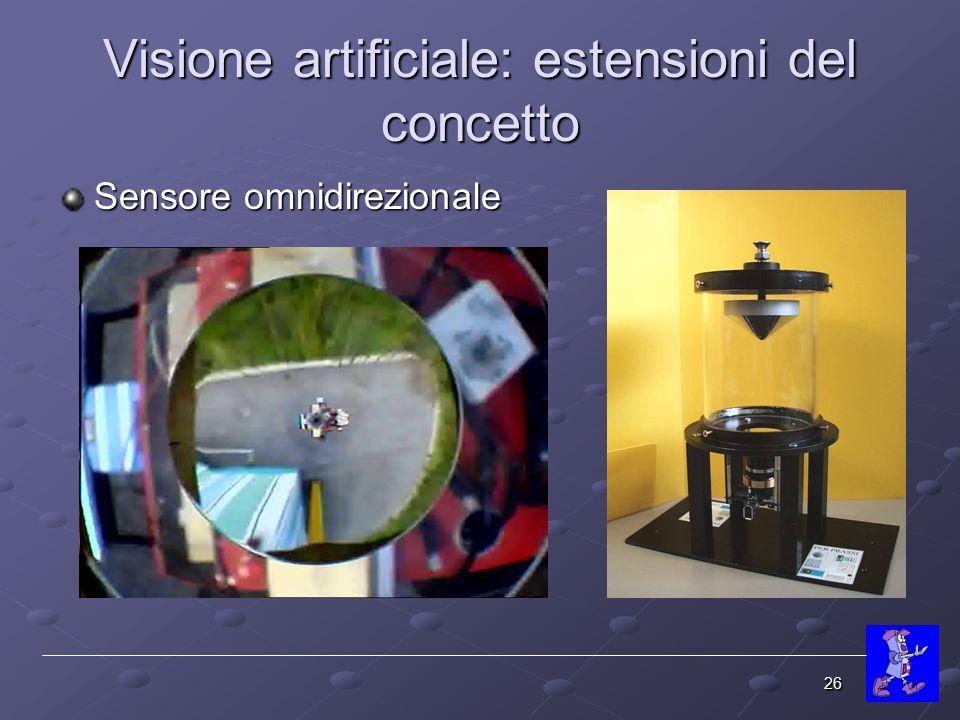 Visione artificiale: estensioni del concetto