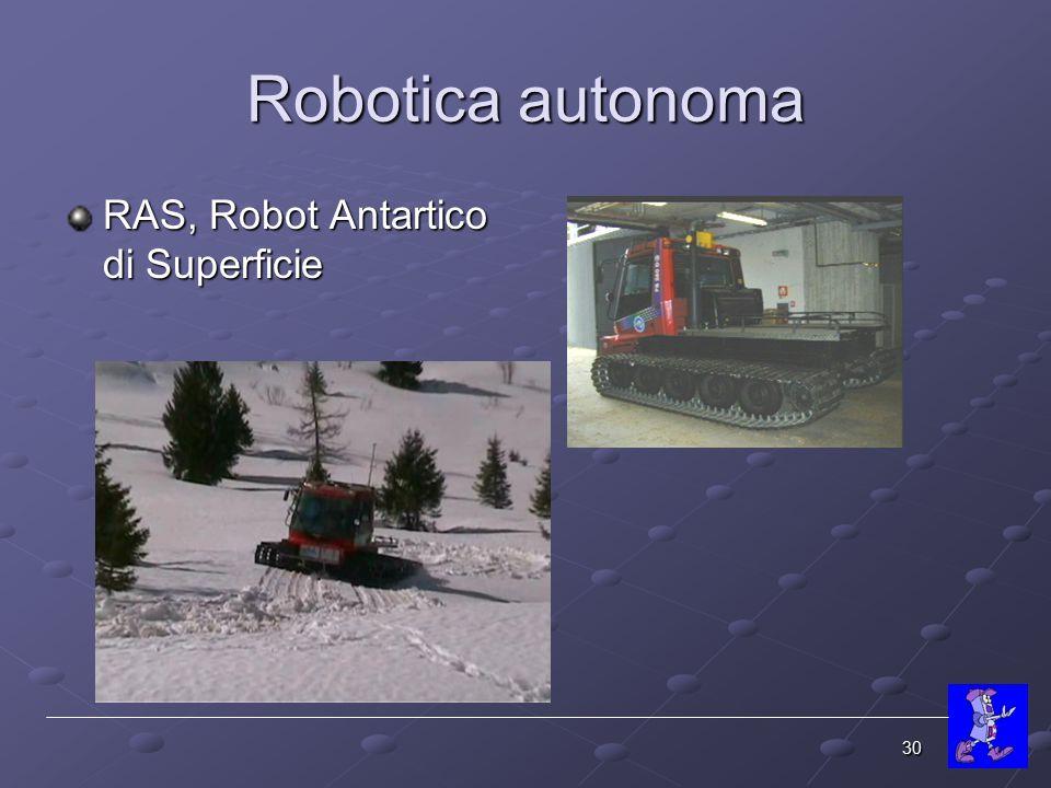 Robotica autonoma RAS, Robot Antartico di Superficie