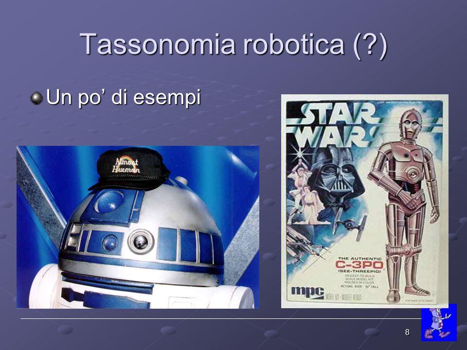 Tassonomia robotica ( )