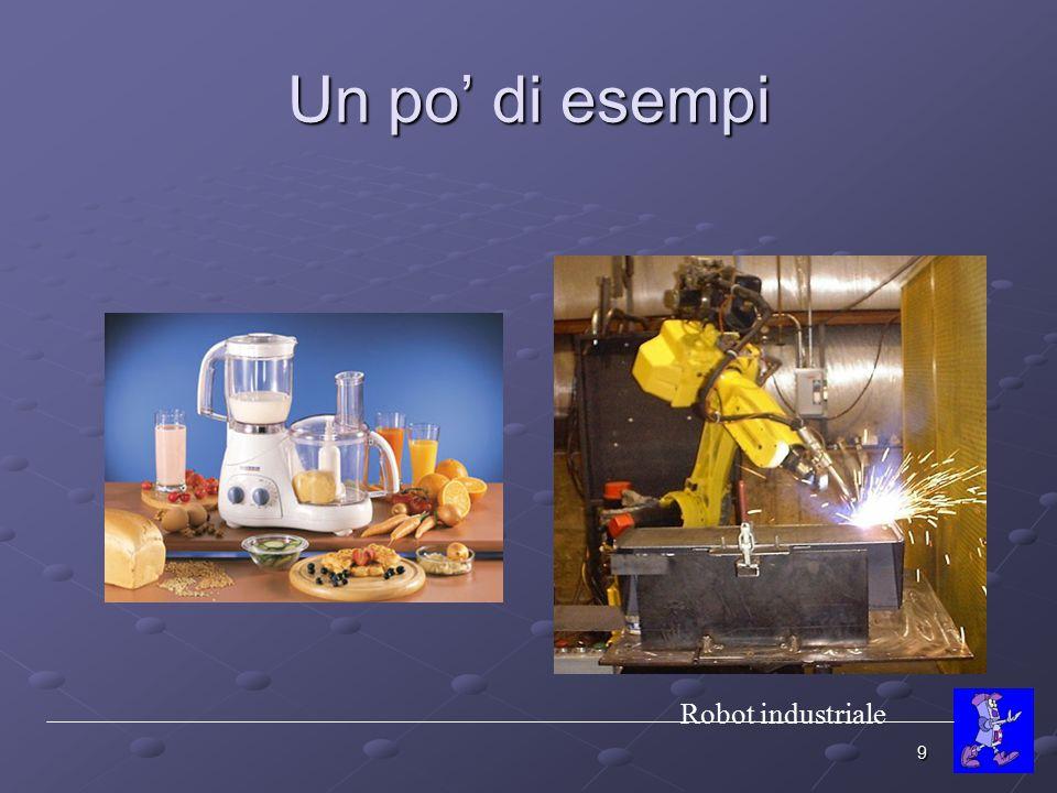 Un po' di esempi Robot industriale