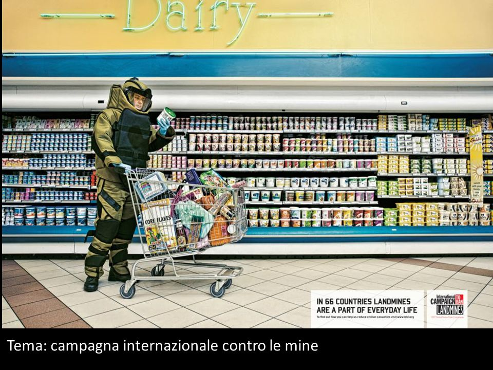 Tema: campagna internazionale contro le mine