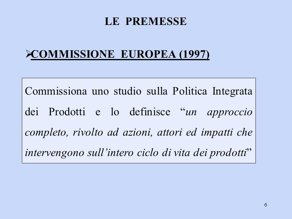 COMMISSIONE EUROPEA (1997)