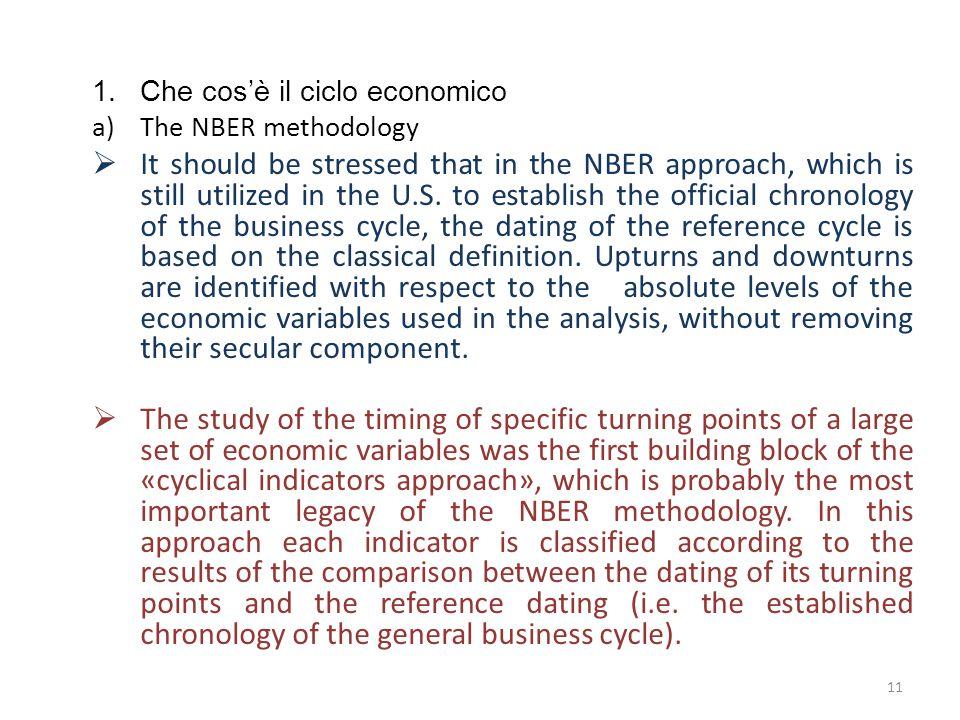 Che cos'è il ciclo economico