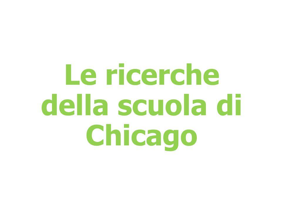 della scuola di Chicago