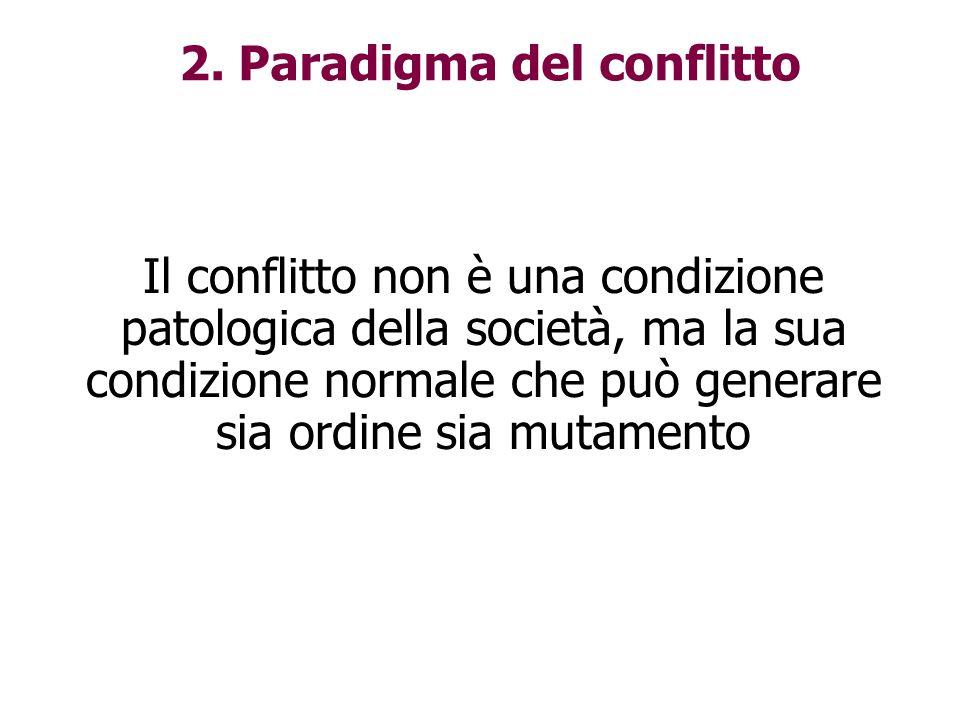 2. Paradigma del conflitto
