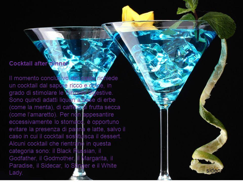 Cocktail after dinner