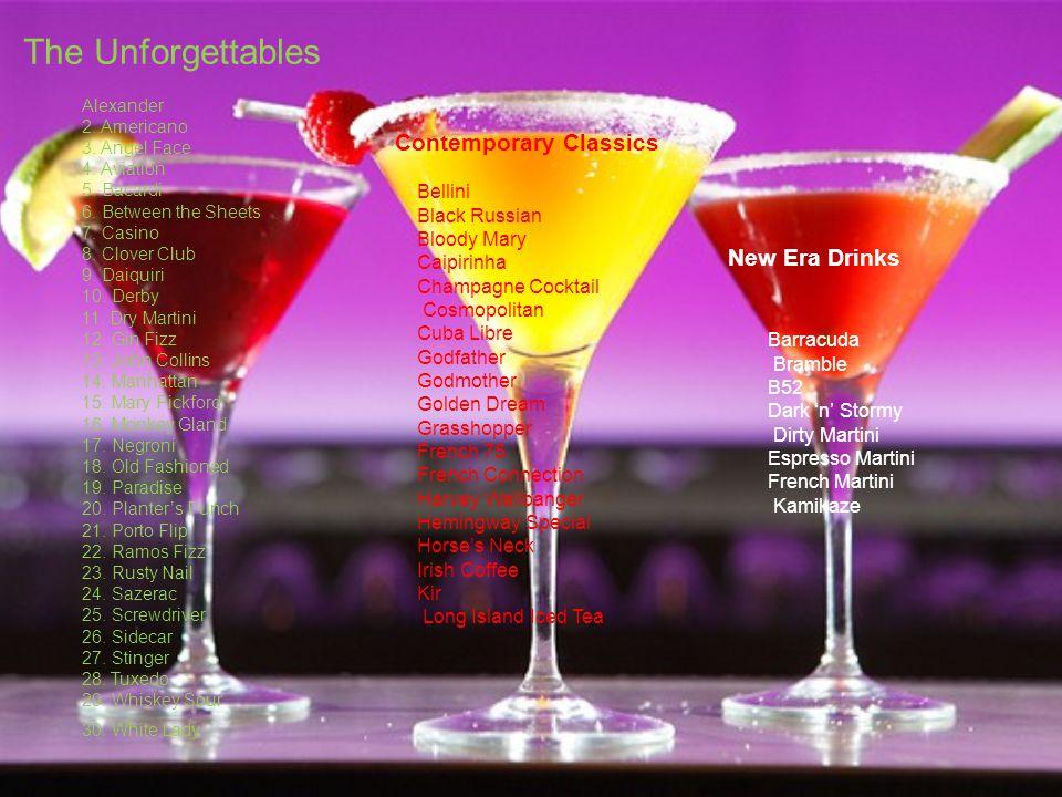 The Unforgettables Contemporary Classics New Era Drinks Bellini