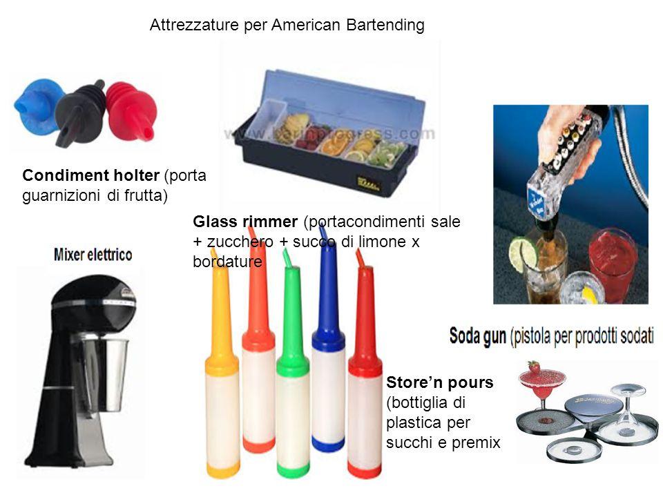 Attrezzature per American Bartending
