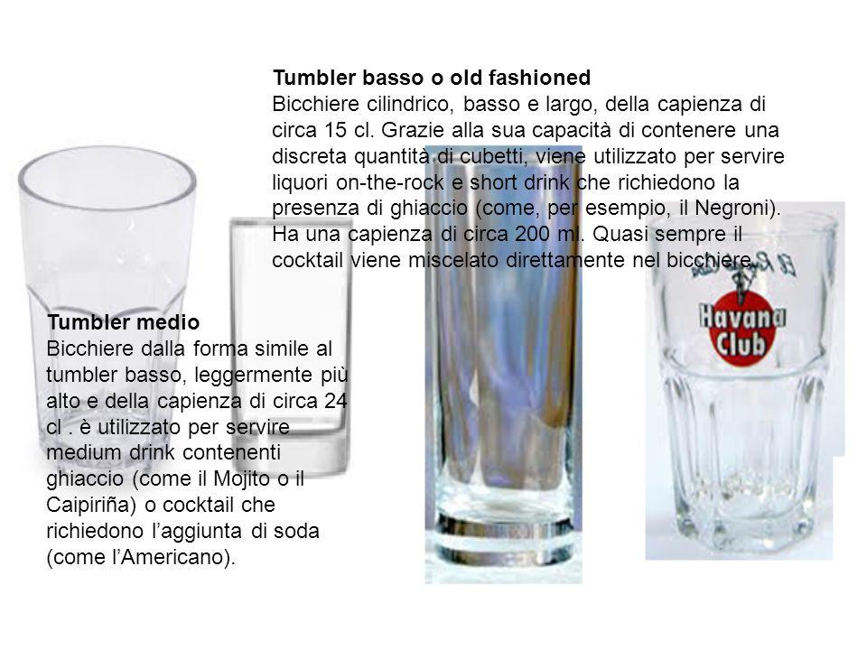 Tumbler basso o old fashioned