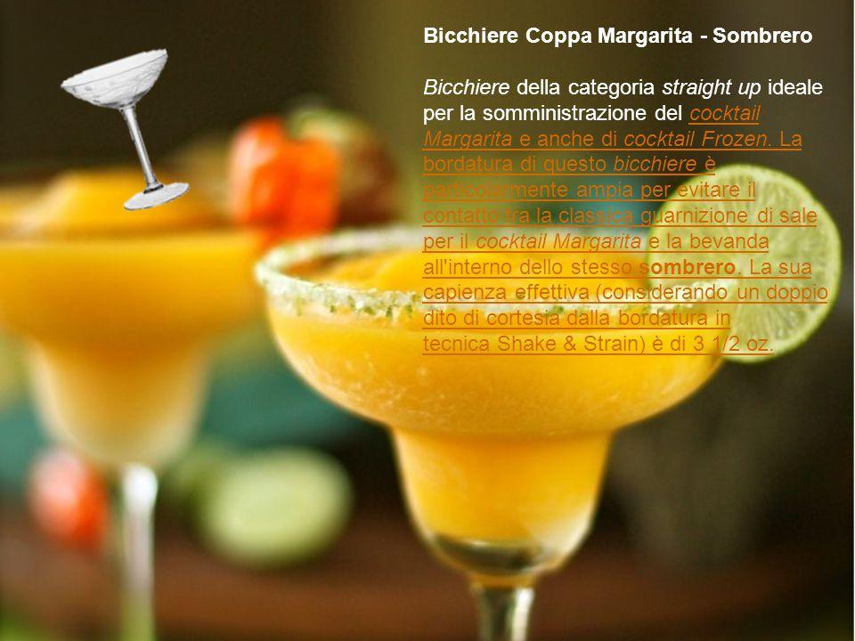 Bicchiere Coppa Margarita - Sombrero