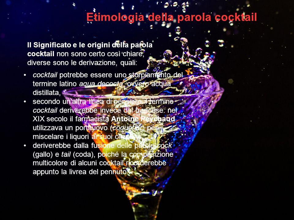 Etimologia della parola cocktail