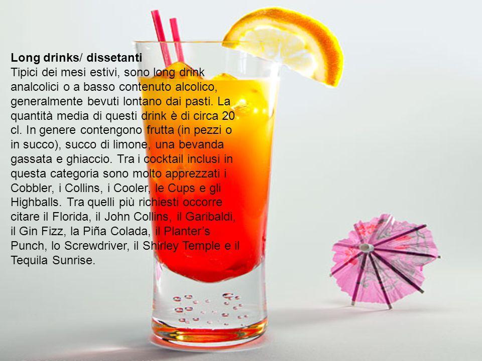 Long drinks/ dissetanti