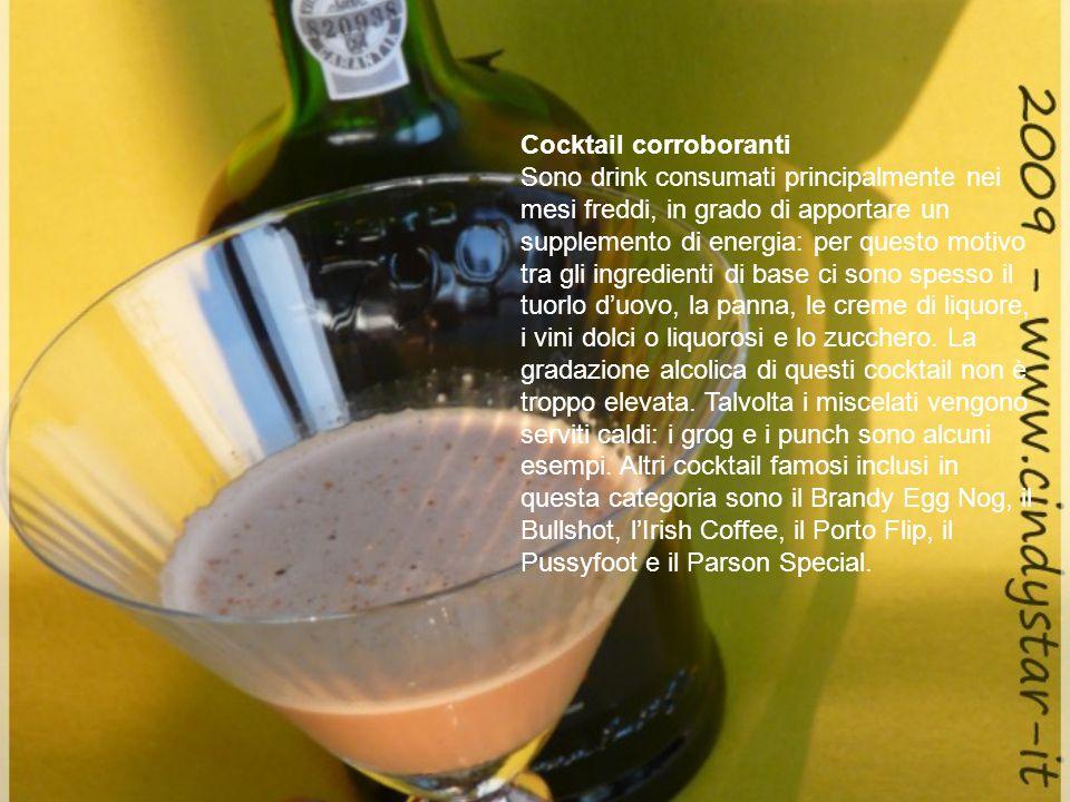 Cocktail corroboranti