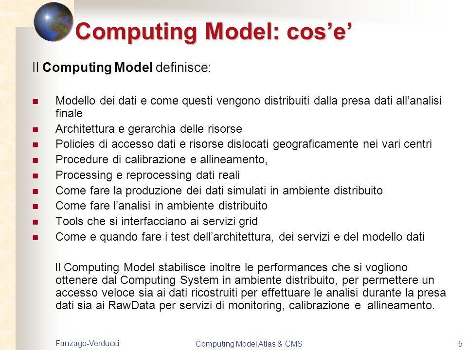 Computing Model: cos'e'