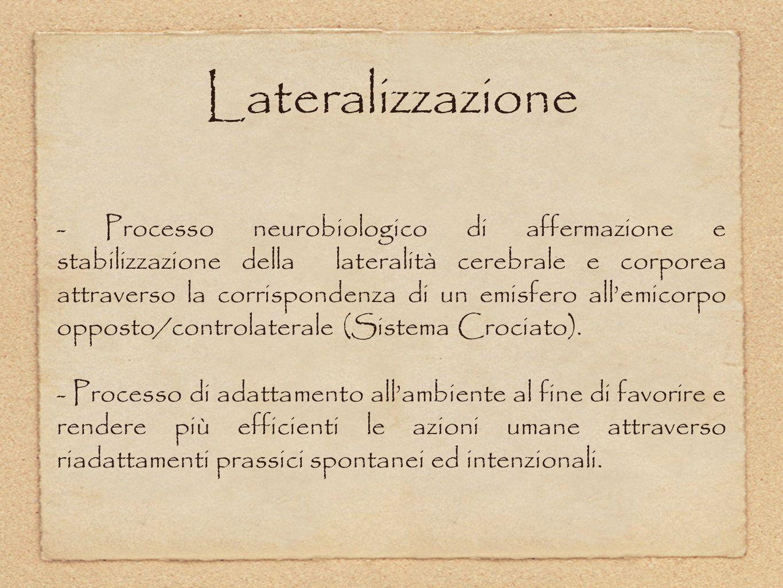 Lateralizzazione
