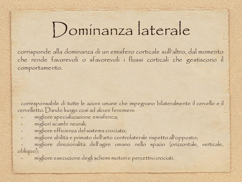 Dominanza laterale