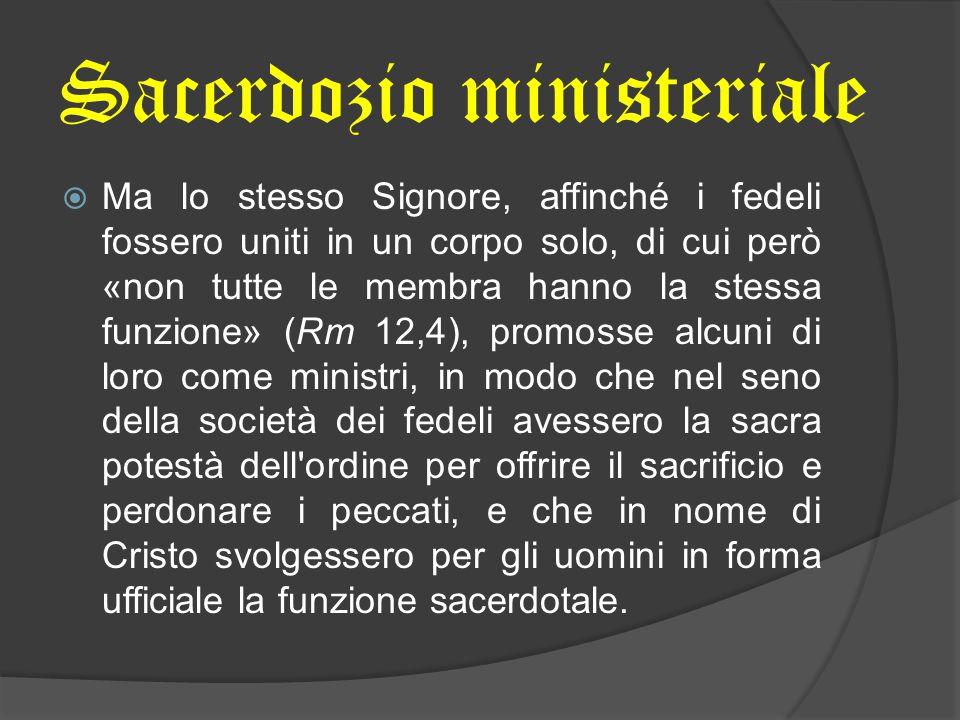 Sacerdozio ministeriale