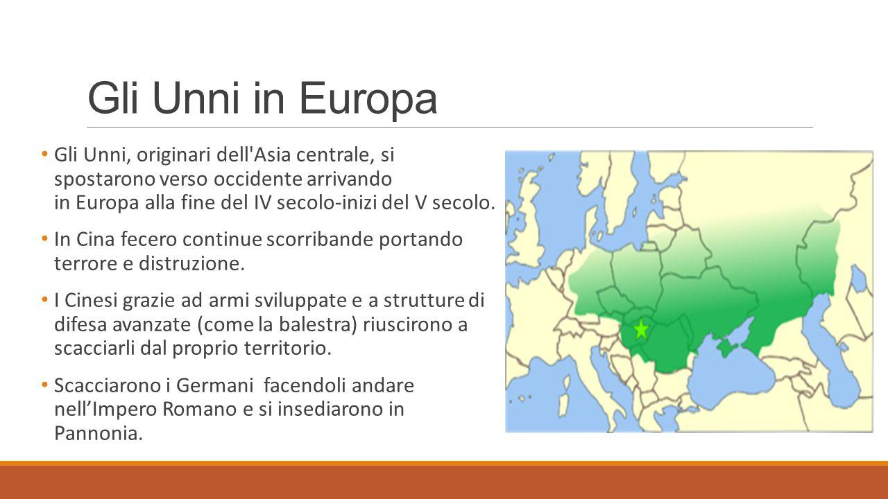 Gli Unni in Europa