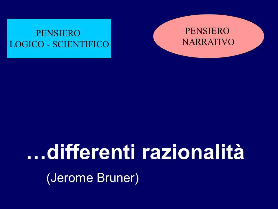 …differenti razionalità