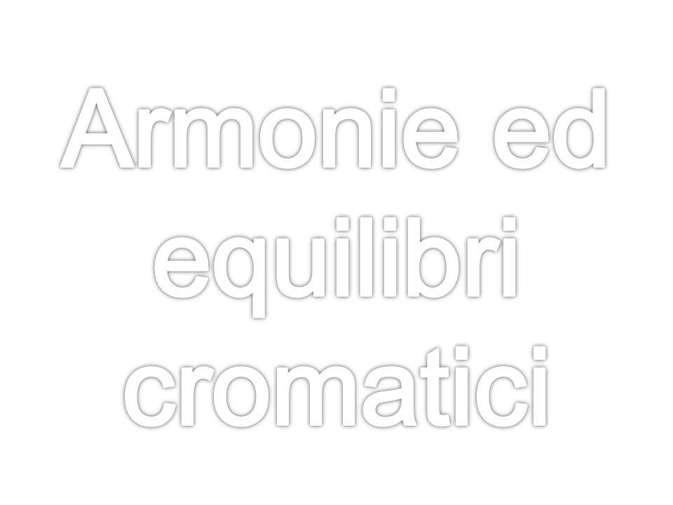 Armonie ed equilibri cromatici