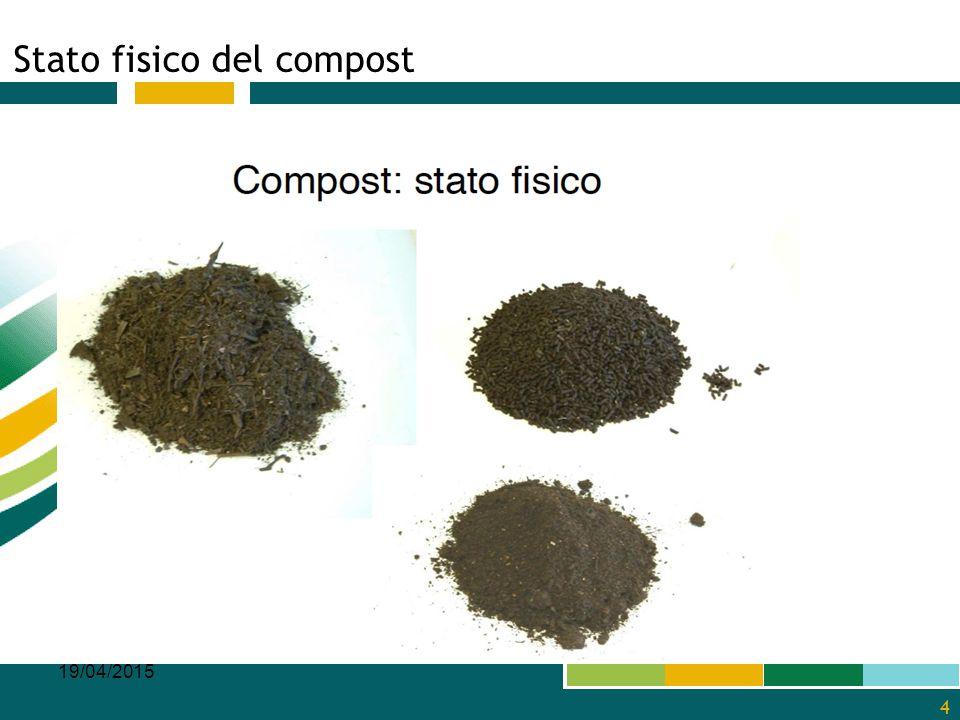 Stato fisico del compost