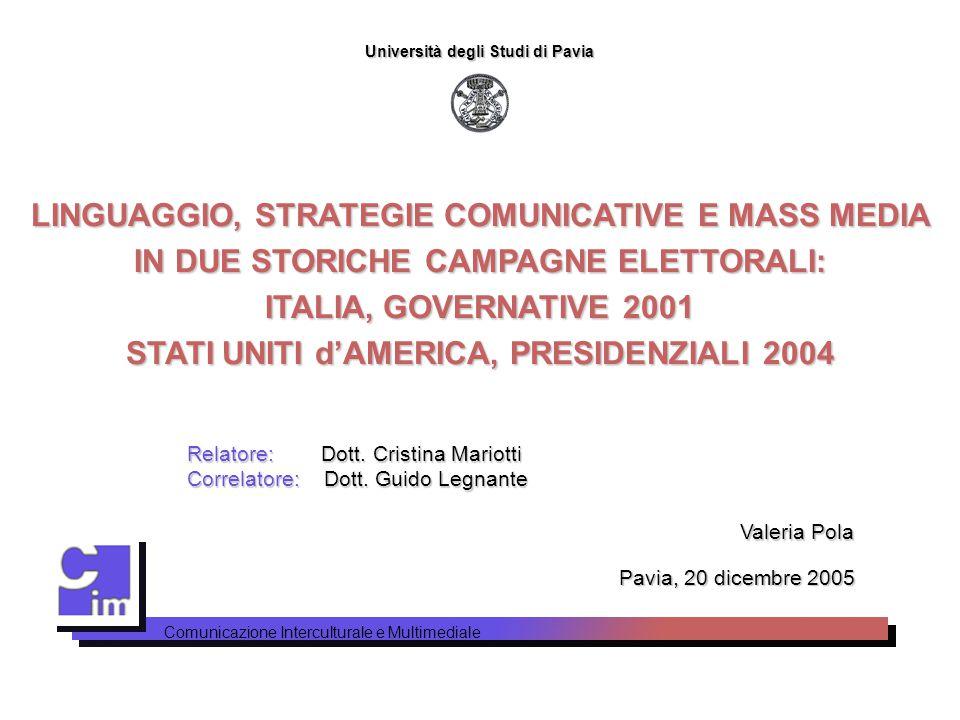 STATI UNITI d'AMERICA, PRESIDENZIALI 2004
