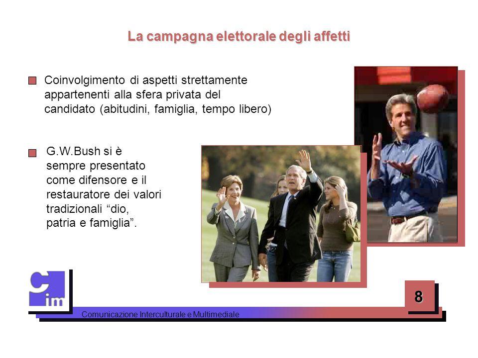La campagna elettorale degli affetti