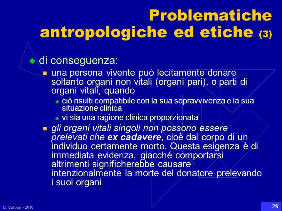 Problematiche antropologiche ed etiche (3)