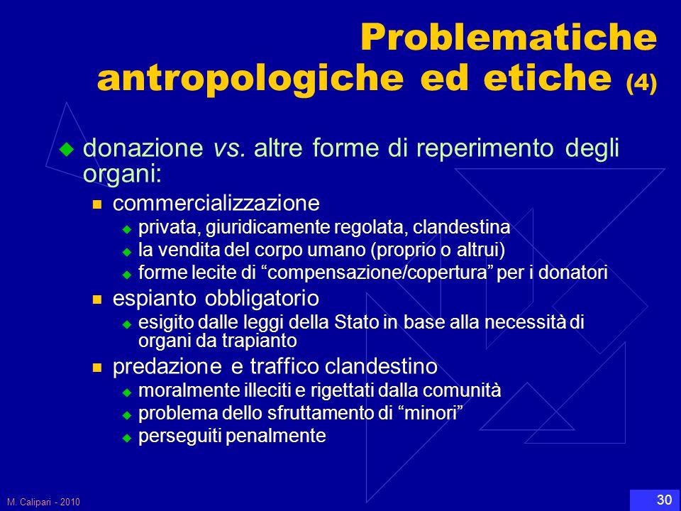 Problematiche antropologiche ed etiche (4)