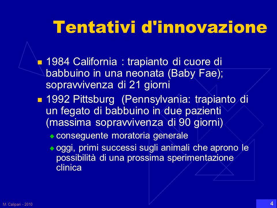 Tentativi d innovazione