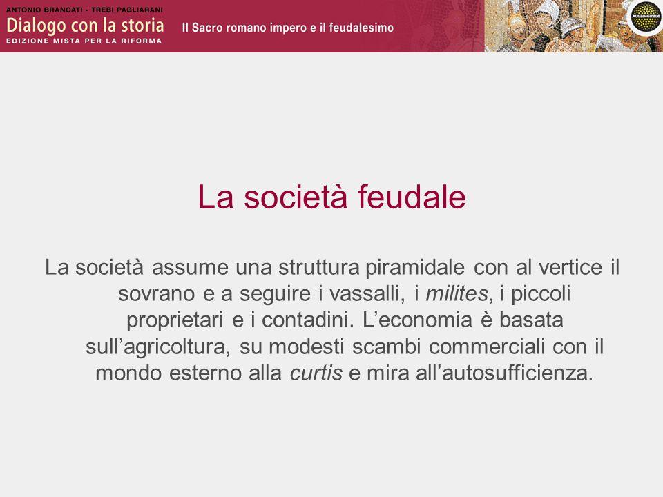 La società feudale