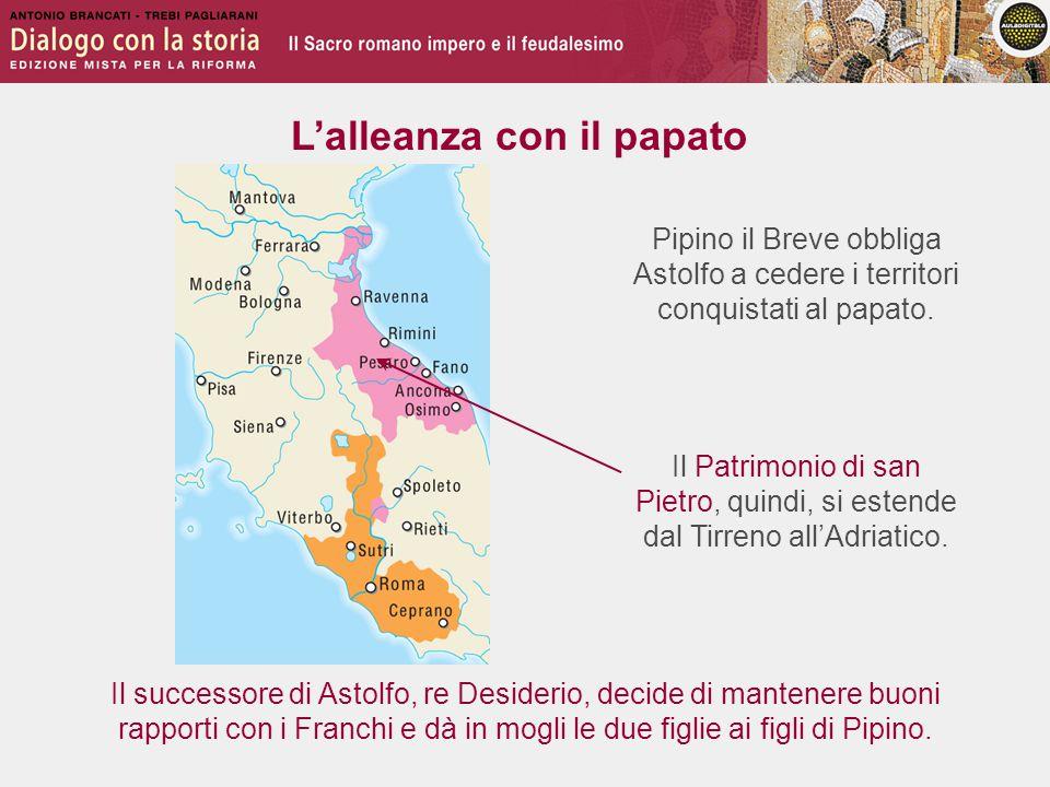 L'alleanza con il papato