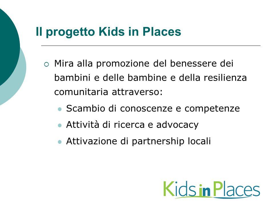 Il progetto Kids in Places