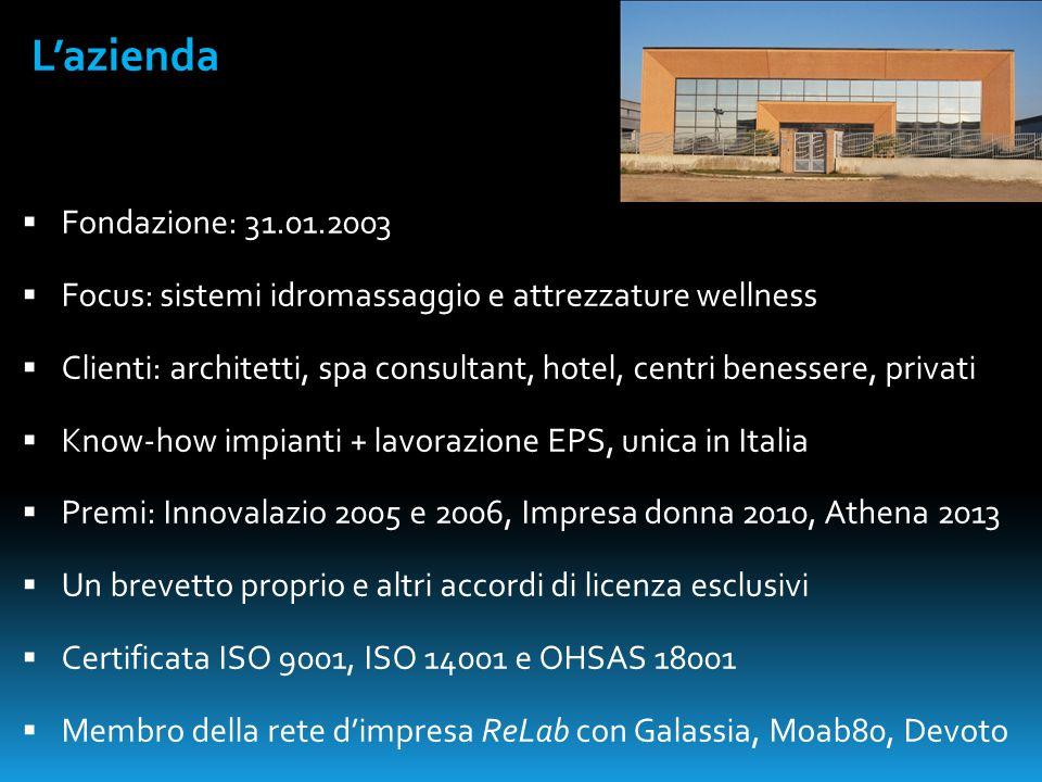 L'azienda Fondazione: 31.01.2003