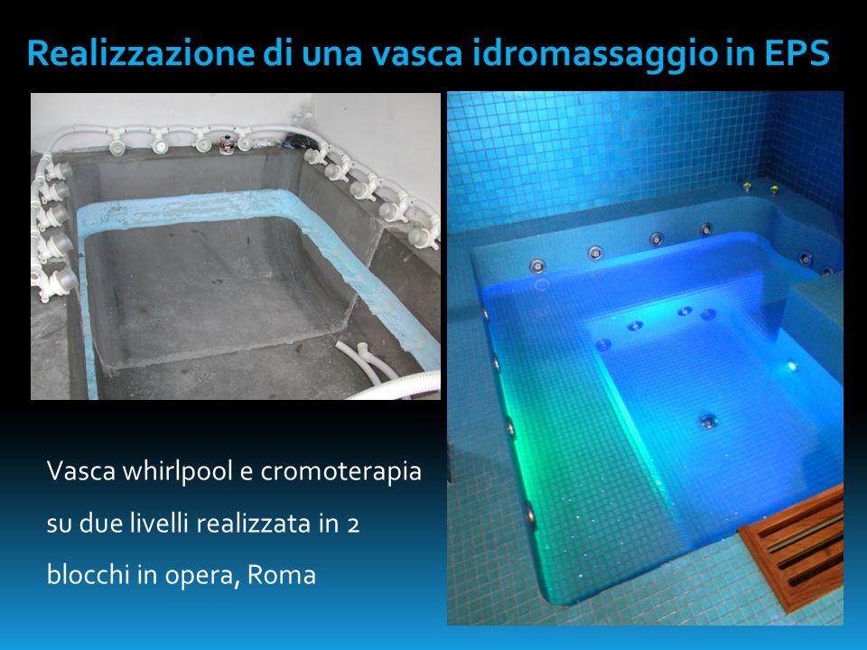 Realizzazione di una vasca idromassaggio in EPS