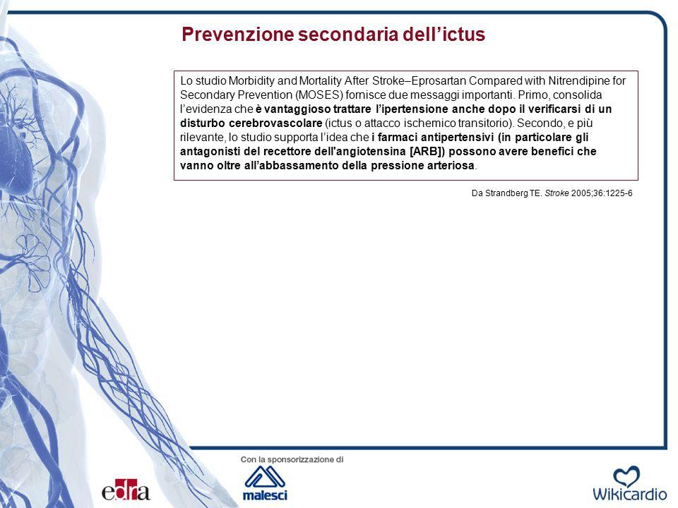 Prevenzione secondaria dell'ictus