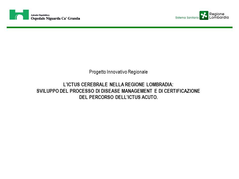 Progetto Innovativo Regionale