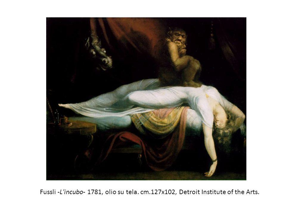 Fussli -L incubo- 1781, olio su tela. cm