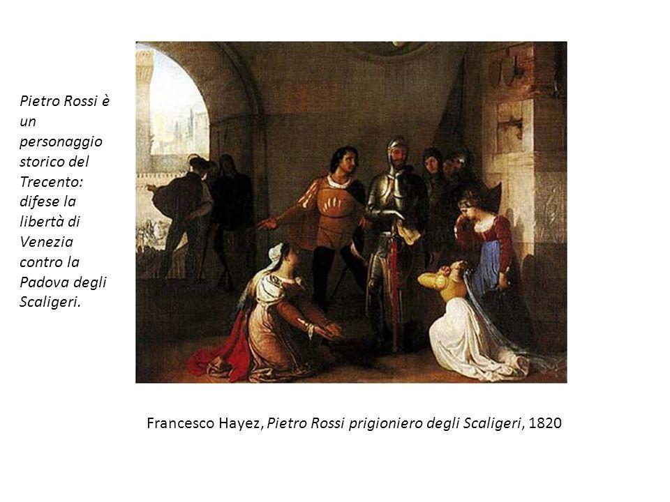 Pietro Rossi è un personaggio storico del Trecento: difese la libertà di Venezia contro la Padova degli Scaligeri.