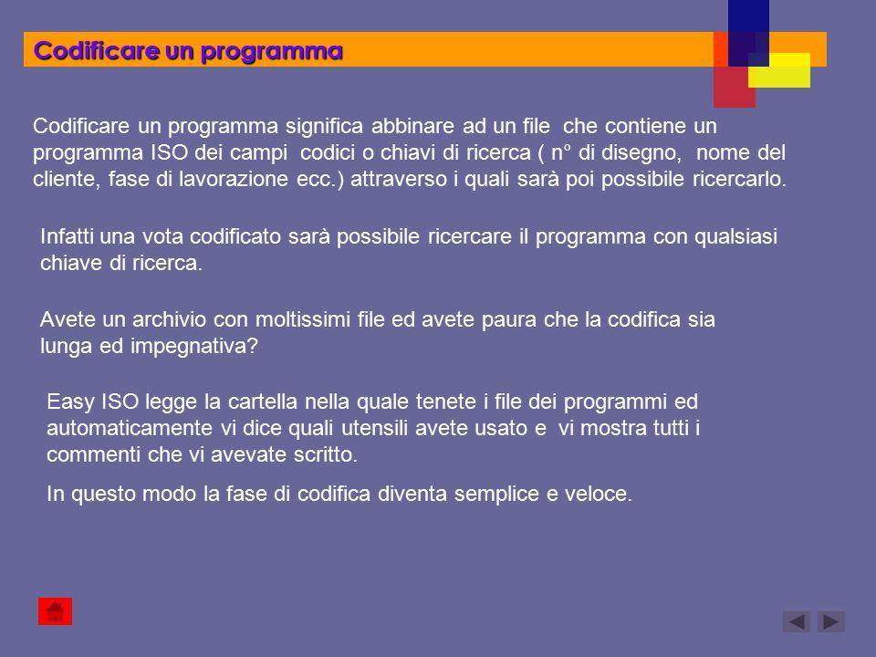 Codificare un programma