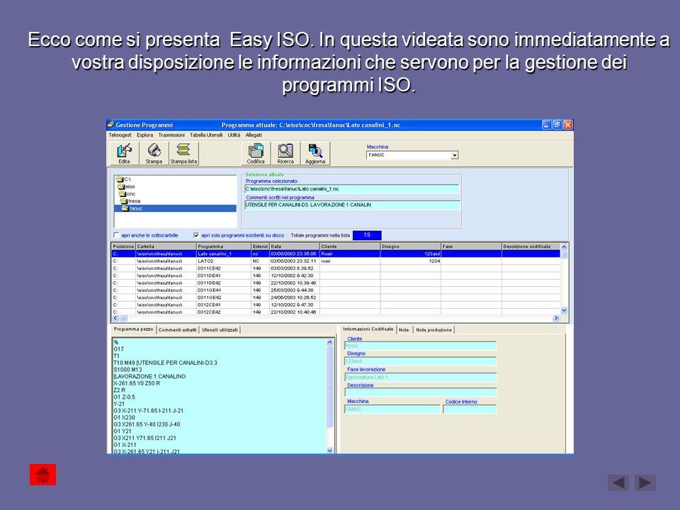 Ecco come si presenta Easy ISO