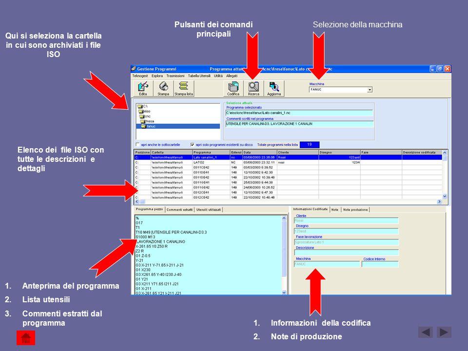 Qui si seleziona la cartella in cui sono archiviati i file ISO