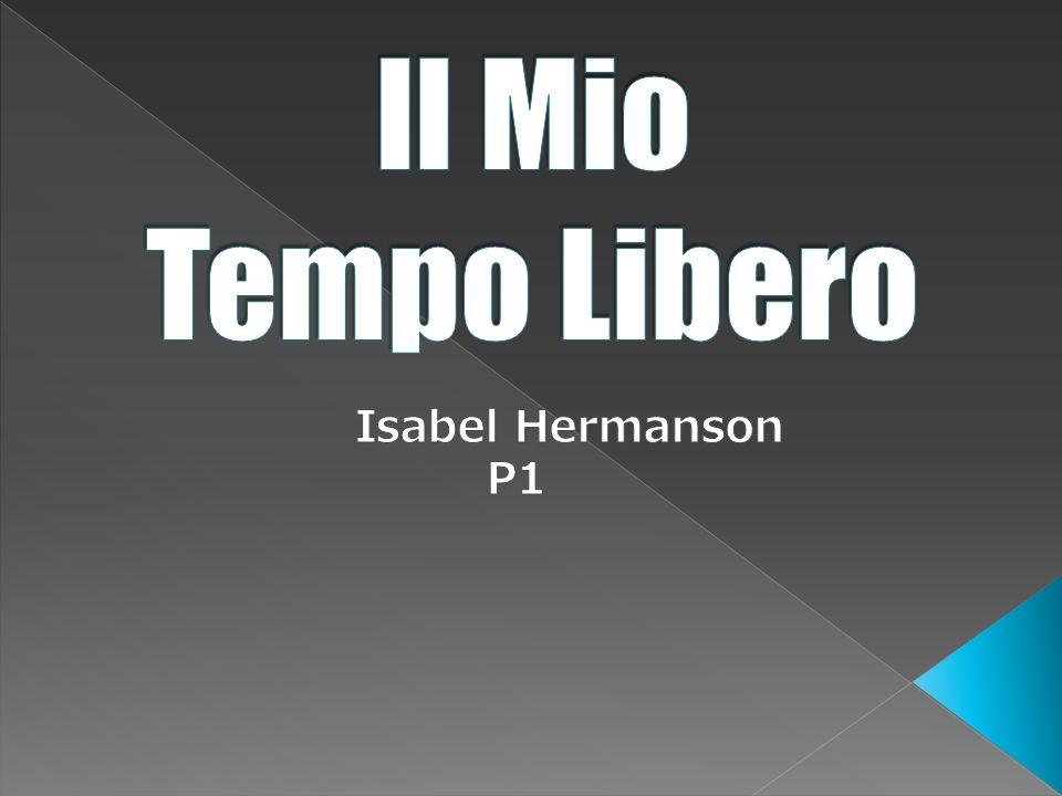 Il Mio Tempo Libero Isabel Hermanson P1