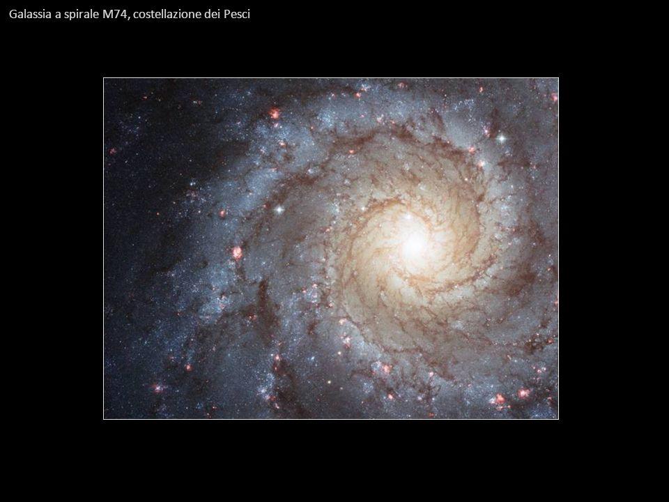 Galassia a spirale M74, costellazione dei Pesci