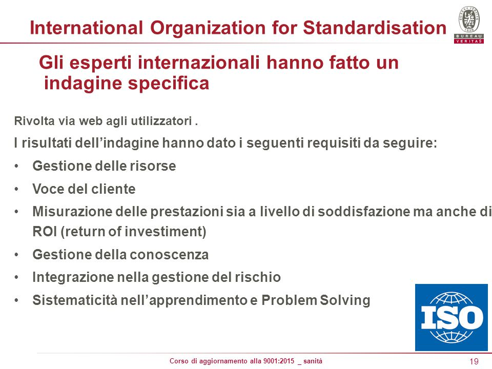 International Organization for Standardisation